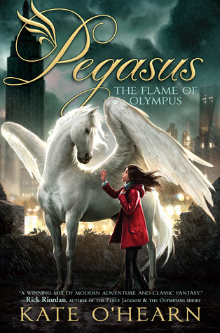 The Flame of Olympus (Pegasus, #1)