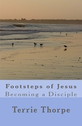 Footsteps of Jesus - Becoming a Disciple by Terrie Thorpe