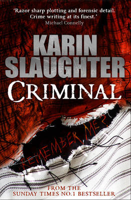 Criminal (Will Trent, #7)