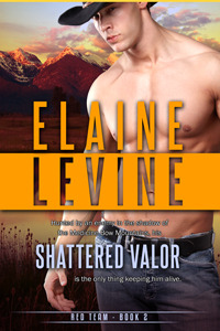 Review: Shattered Valor (Red Team #2) by Elaine Levine