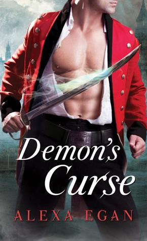 Book cover: demon's curse by Alexa Egan