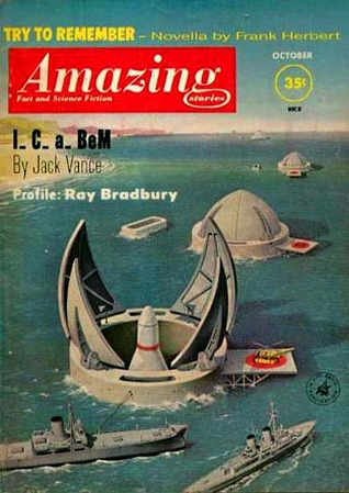 Amazing Stories, October 1961 by Cele Goldsmith