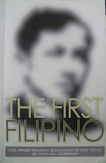 The First Filipino by León Ma. Guerrero