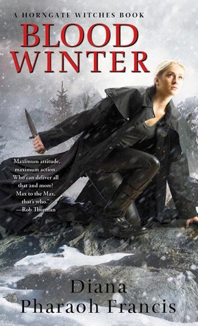 Blood Winter by Diana Pharaoh Francis // giveaway at VBC