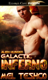 Galactic Inferno (Alien Hunger, #2)