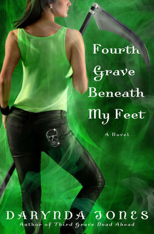 Fourth Grave Beneath My Feet (Charley Davidson #4)