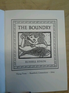 The Boundry by Russell Edson