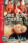 One for Three (Elite Dragons, #1)