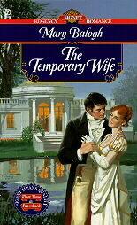 The Temporary Wife by Mary Balogh