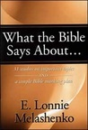 What the Bible Says About--: 31 Studies on Important Topics and a Simple Bible Marking Plan