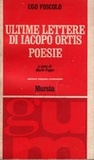Ultime lettere di Jacopo Ortis, Poesie