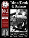 Tales of Death and Darkness (Miskatonic University Library Association, #0321)