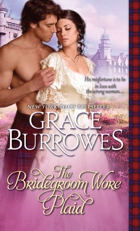 Post thumbnail of ARC Review: The Bridegroom Wore Plaid by Grace Burrowes