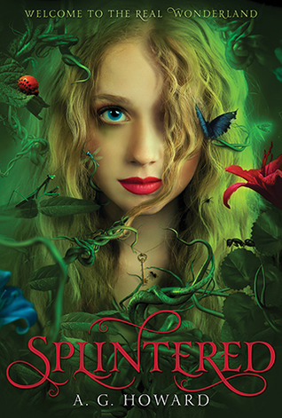 Book Cover Splintered by A.G. Howard