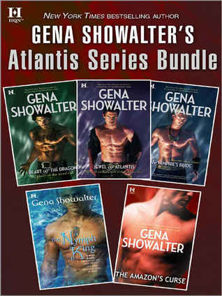 Gena Showalter's Atlantis Series Bundle  - Gena Showalter