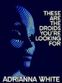 These Are the Droids You're Looking For by Adrianna White