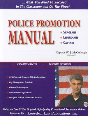 Police Promotion Manual William J. McCullough