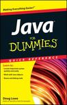 Java for Dummies Quick Reference by Doug Lowe