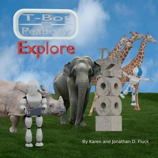 T-Bot and Peabody Explore the Zoo by Jonathan Fluck