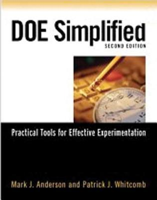 DOE Simplified: Practical Tools for Effective Experimentation [With CDROM]