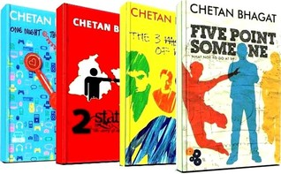 Five Point Someone / One Night at the Call Centre / 2 States ... by Chetan Bhagat