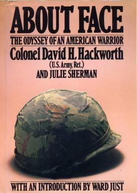 About Face by David H. Hackworth