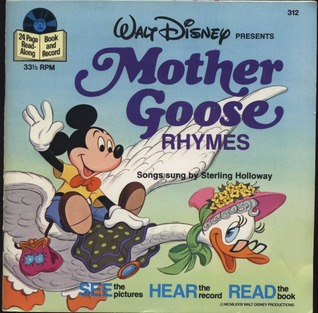 Mother Goose Rhymes, with Book