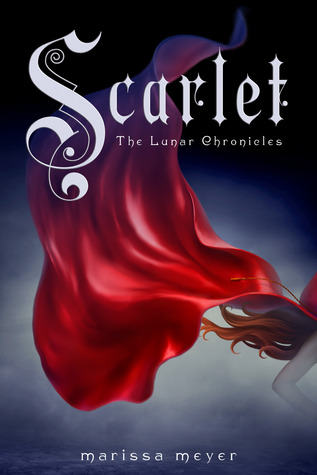 Scarlet (Lunar Chronicles, #2) by Marissa Meyer, book cover