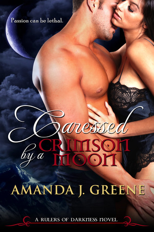 Review: Caressed by a Crimson Moon by Amanda J. Greene