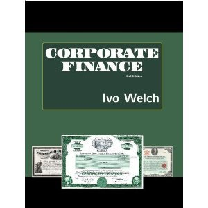 Corporate Finance - Iwo Welch / Иво Уэлч - Corporate Finance / Корпоративные финансы [October 25, 2011, PDF, ENG]
