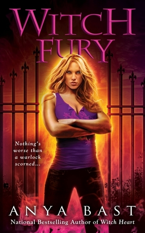 Witch Fury (Elemental Witches, #4)