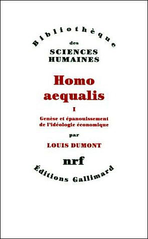 Homo aequalis 1 by Louis Dumont