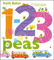 1-2-3 Peas by Keith  Baker