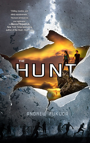 book cover for the hunt by andrew fukuda