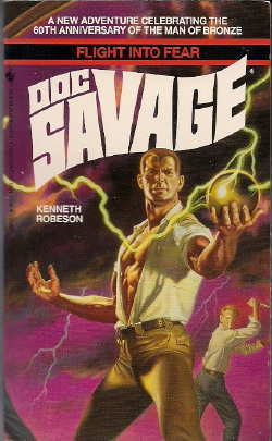 Doc Savage - Flight into Fear - Lester Dent, Will Murray