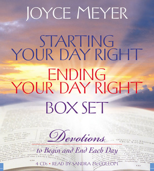 starting your day right ending your day right box set devotions to begin and end each day by. Black Bedroom Furniture Sets. Home Design Ideas