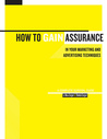 How To Gain Assurance In Your Marketing And Advertising Techniques: A Complete Survival Guide