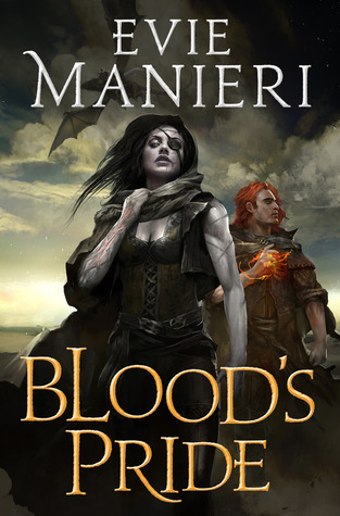 Book cover: Blood's Pride by Evie Manieri