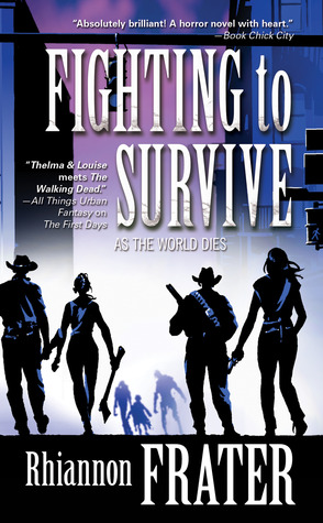 15792856 Book Blitz: Fighting to Survive by Rhiannon Frater Paperback Release + GIVEAWAY!