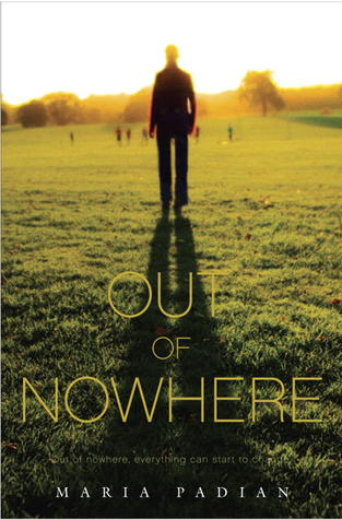 Book Cover Out of Nowhere by Maria Padian