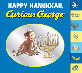 Happy Hanukkah, Curious George tabbed board book
