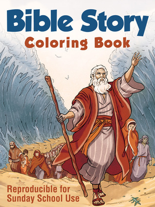 Bible Story Coloring Book: Reproducible for Sunday School Use  by  Barbour Publishing