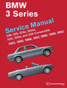BMW 3 Series Service Manual 1984-1990