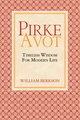 Pirke Avot by William Berkson