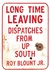 Long Time Leaving: Dispatches from Up South (Paperback)