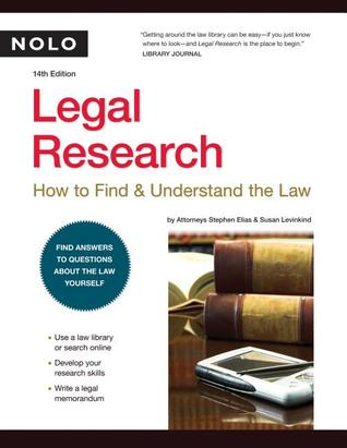 Legal Research by Stephen Elias