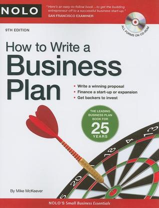 How to Write a Business Plan [With CDROM] by Mike McKeever