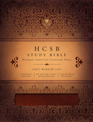 HCSB Study Bible, Mahogany LeatherTouch by Anonymous