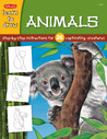 Learn to Draw Animals: Step-By-Step instructions for 26 captivating creatures