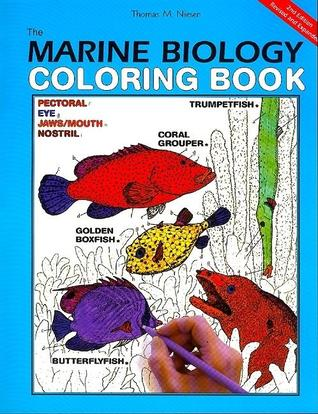 The Marine Biology Coloring Book by Coloring Concepts Inc.